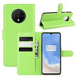 Чохол-книжка Litchie Wallet для OnePlus 7T Green (hub_GItW25552), фото 2
