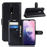 Чехол-книжка Litchie Wallet для OnePlus 7 Black (hub_hXAd19537), фото 2