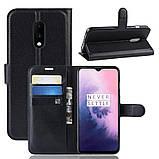 Чохол-книжка Litchie Wallet для OnePlus 7 Black (hub_hXAd19537), фото 2