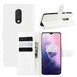 Чохол-книжка Litchie Wallet для OnePlus 7 White (hub_DtaJ34263), фото 2