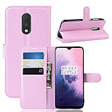 Чохол-книжка Litchie Wallet для OnePlus 7 Pink (hub_aaiG00944), фото 2