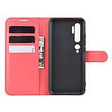 Чехол-книжка Litchie Wallet для Xiaomi Mi Note 10 / Mi Note 10 Pro / CC9 Pro Red (hub_VPbu16490), фото 3