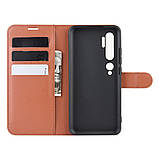 Чехол-книжка Litchie Wallet для Xiaomi Mi Note 10 / Mi Note 10 Pro / CC9 Pro Brown (hub_GJom20933), фото 3