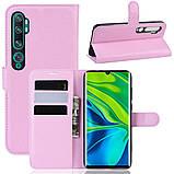 Чохол-книжка Litchie Wallet для Xiaomi Mi Note 10 / Mi Note 10 Pro / CC9 Pro Pink (hub_mlgX26608), фото 2