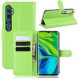 Чехол-книжка Litchie Wallet для Xiaomi Mi Note 10 / Mi Note 10 Pro / CC9 Pro Green (hub_hOEU83840), фото 2