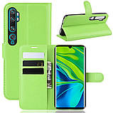 Чохол-книжка Litchie Wallet для Xiaomi Mi Note 10 / Mi Note 10 Pro / CC9 Pro Green (hub_hOEU83840), фото 2