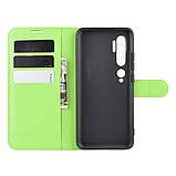 Чехол-книжка Litchie Wallet для Xiaomi Mi Note 10 / Mi Note 10 Pro / CC9 Pro Green (hub_hOEU83840), фото 3