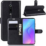 Чехол-книжка Litchie Wallet для Xiaomi Mi 9T / Mi 9T Pro / Redmi K20 / K20 Pro Black (hub_frPp46708), фото 2