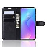 Чехол-книжка Litchie Wallet для Xiaomi Mi 9T / Mi 9T Pro / Redmi K20 / K20 Pro Black (hub_frPp46708), фото 4