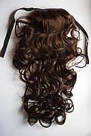 Шиньон из искусственного волоса кучерявый