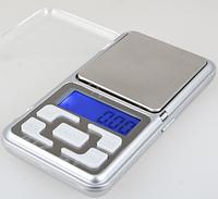 Цифрові портативні кишенькові ваги Pocket Scale MH-500, Ваги ювелірні на 500 грам (GIPS)
