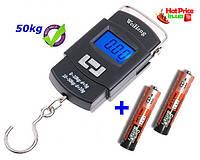 Электронные весы кантер WeiHeng WH-A08 до 50 кг (GIPS), Весы кантеры