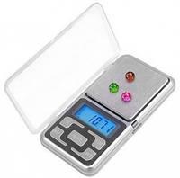 Ваги кишенькові, ювелірні pocket scale mh-100, 100 м, крок - 0,01 г (GIPS)