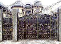 Размеры кованных ворот