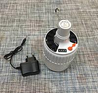 (GIPS), Кемпінговий лампа з гачком та АКБ і сонячною панеллю SL-24 / 55