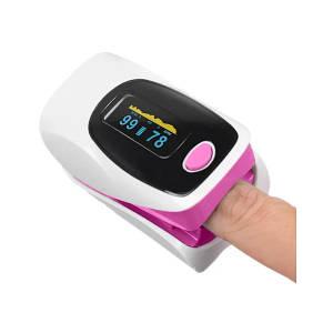 Пульсоксиметр OLV-80A-302A - Розовый