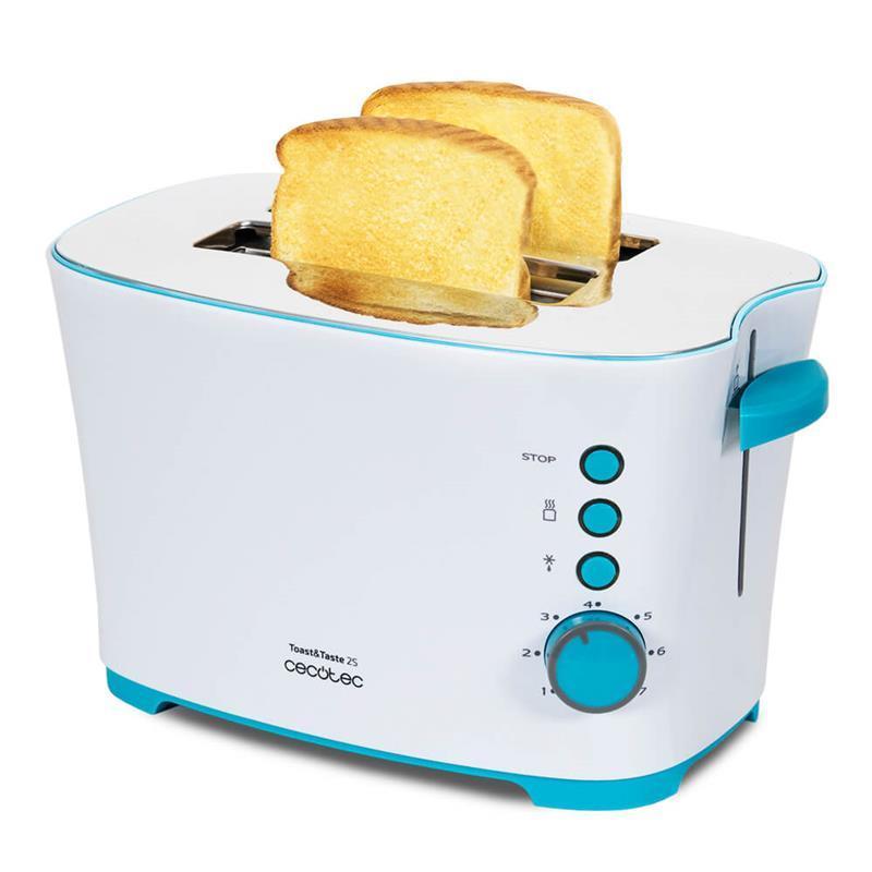 Тостер Cecotec Toast&Taste 2S CCTC-03027 (8435484030274)