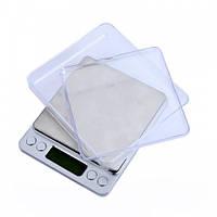 Ювелірні електронні ваги з 2ма чашами 0,01-500гр (GIPS)