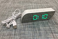Зеркальные электронные настольные часы 018 (GIPS), Часы настольные, метеостанции