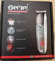Акумуляторна машинка для стрижки волосся Gemei GM-6050 (GIPS)