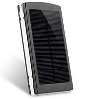 Power Bank 16000 mAh на солнечных батареях + Solar + Led панели (GIPS), Внешние аккумуляторы Power Bank