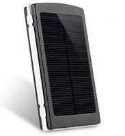 Power Bank 20000 mAh на солнечных батареях + Solar + Led панели (GIPS), Внешние аккумуляторы Power Bank