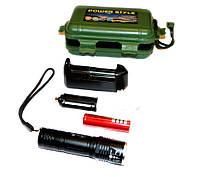 Аккумуляторный фонарик Ultrafire 301 RB (GIPS), Фонари ручные