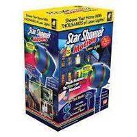 Лампа для зовнішнього освітлення Star Shower Motion, Світломузика диско куля Magic Ball Music MP3 плеєр