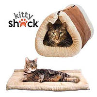 Будиночок-лежанка для собак і кішок Kitty Shack, Pet Hut