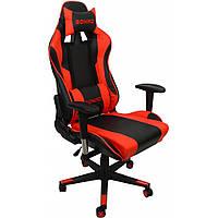Крісло геймерське Bonro 2011-А червоне, фото 1