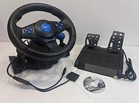 (GIPS), Ігровий мультимедійний універсальний кермо 3в1 PS3 / PS2 / PC USB з педалями газу і гальма