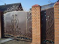 Кованые ручки на ворота