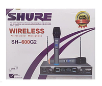 Радиосистема Shure SH-600G2+ 2 микрофона (GIPS), Микрофоны