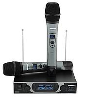 Радиосистема Shure SH-999R, база, 2 микрофона + Кейс, Радиосистема Shure SH-999R