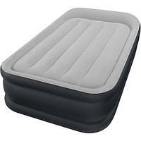 Надувний матрац ліжко з вбудованим електронасосом Intex 64132 (GIPS)