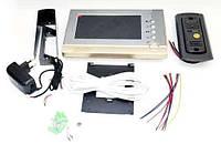 Домофон Intercom V80P-M1 Цветной  Видеозвонок с картой памяти (GIPS), Домофоны