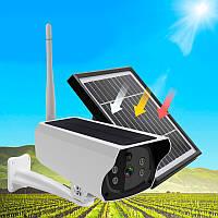 IP камера видеонаблюдения UKC Solar Ip Camera Y9, камера наружного наблюдения   камера відеоспостереження