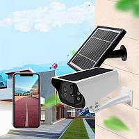 Камера видеонаблюдения UKC Solar Camera Y4P-4G, автономная камера наблюдения с сим картой (GIPS)