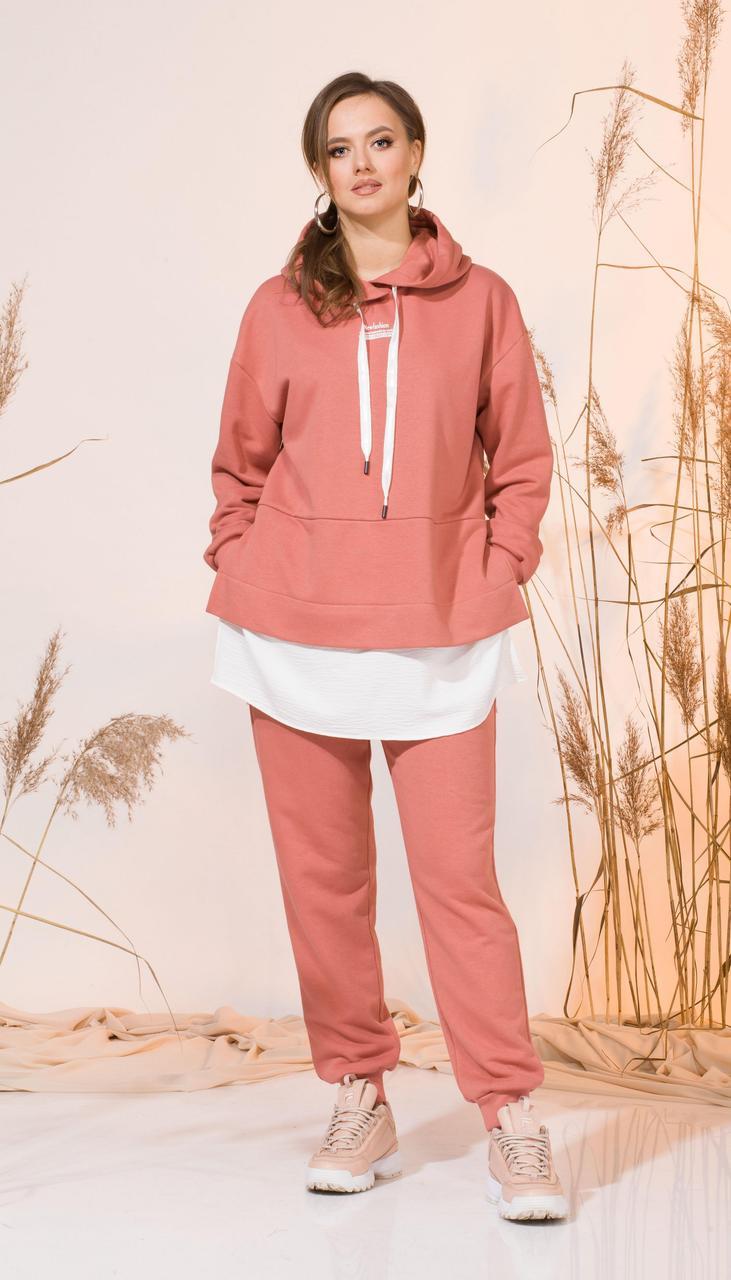 Спортивний одяг INPOINT-002 білоруський трикотаж, кораловий, 44