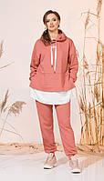 Спортивний одяг INPOINT-002 білоруський трикотаж, кораловий, 44, фото 1