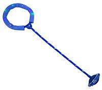 (GIPS), Скакалка на одну ногу синя, нейроскакалка з підсвіткою дитяча з доставкою по Україні