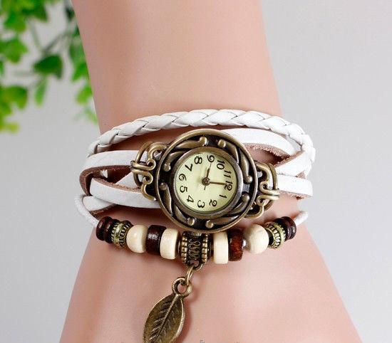 Ретро наручний годинник з браслетом