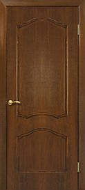 Двері Omis Кароліна ПГ натуральний шпон Горіх, 600
