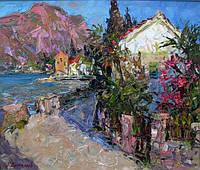 Горный пейзааж. Картины с изображением гор. Пейзаж купить