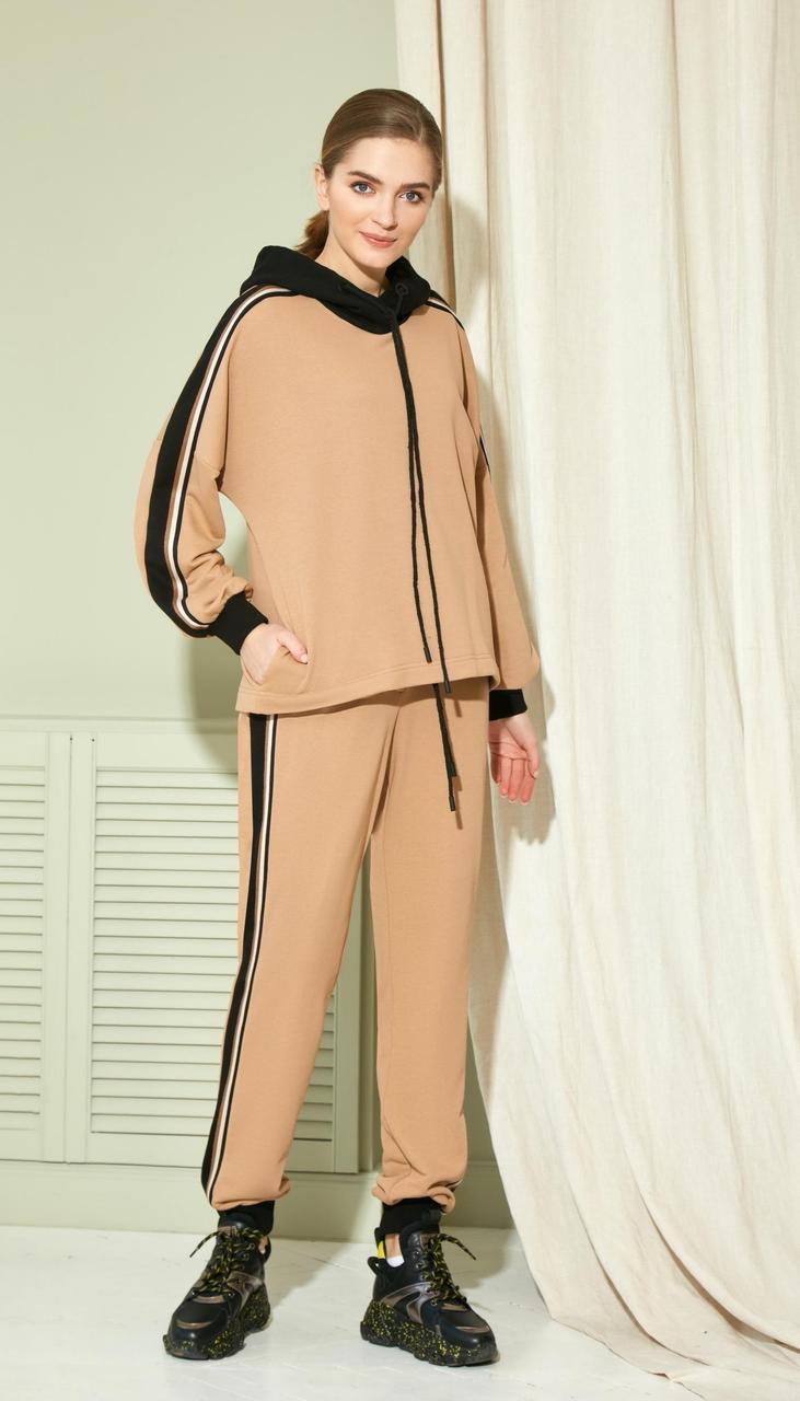 Спортивная одежда Gizart-7433 белорусский трикотаж, капучино, 44