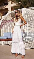 Платье Vesnaletto-2544 белорусский трикотаж, белый, 42, фото 1