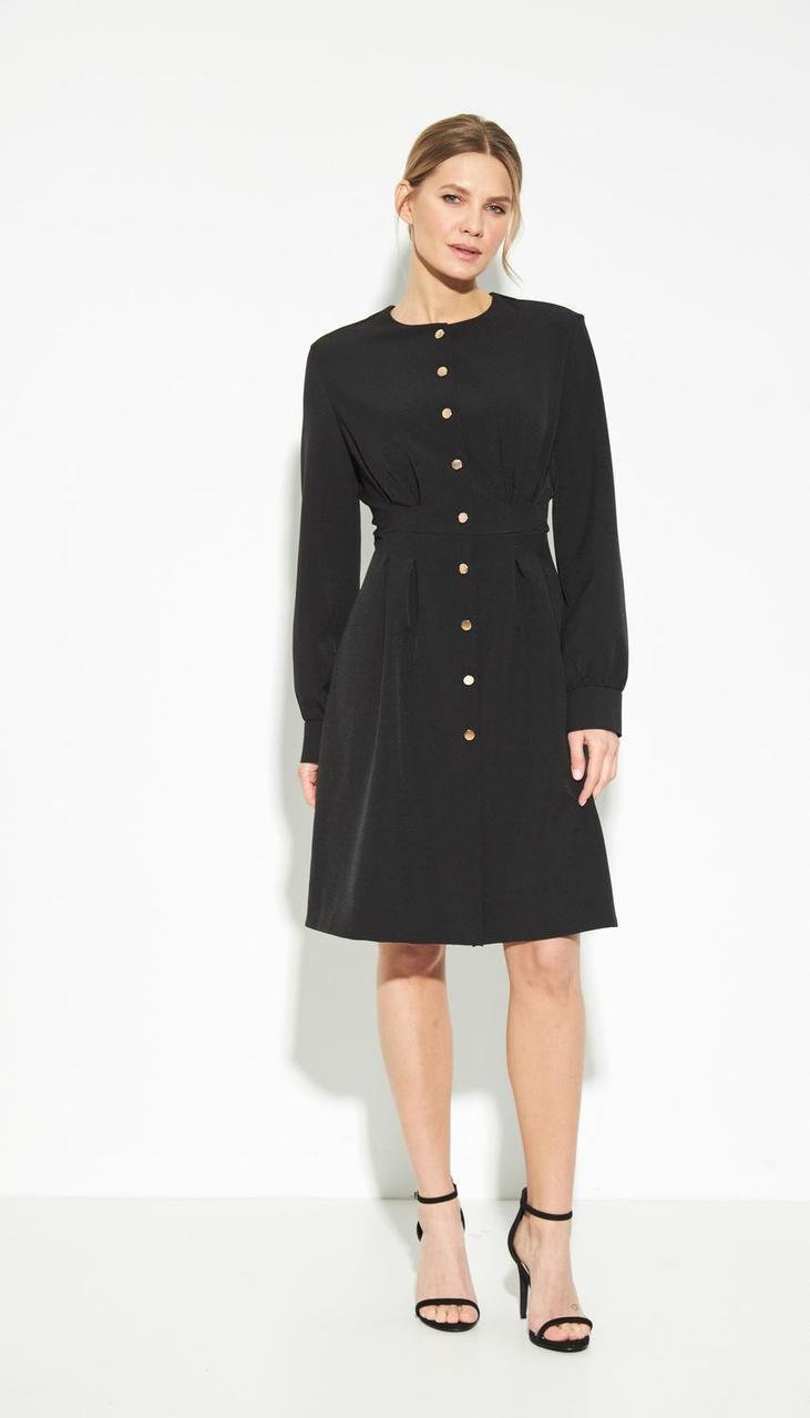 Платье LIBERTY-11 белорусский трикотаж, черный, 42