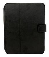 """Чехол книжка (обложка) для планшета Assistant 803 """"8"""" (черная кожа). Доставка по Днепропетровску курьером."""