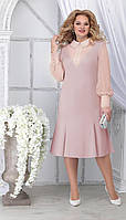 Платье Ninele-2280/3 белорусский трикотаж, пудра, 48