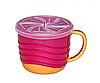Чашка для снеков + кружка для питья 250 мл, 2 в 1  Nip